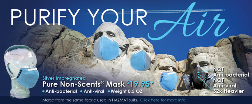 mask - Protection From Volcanic Ash, Breathe Clean Air Now!