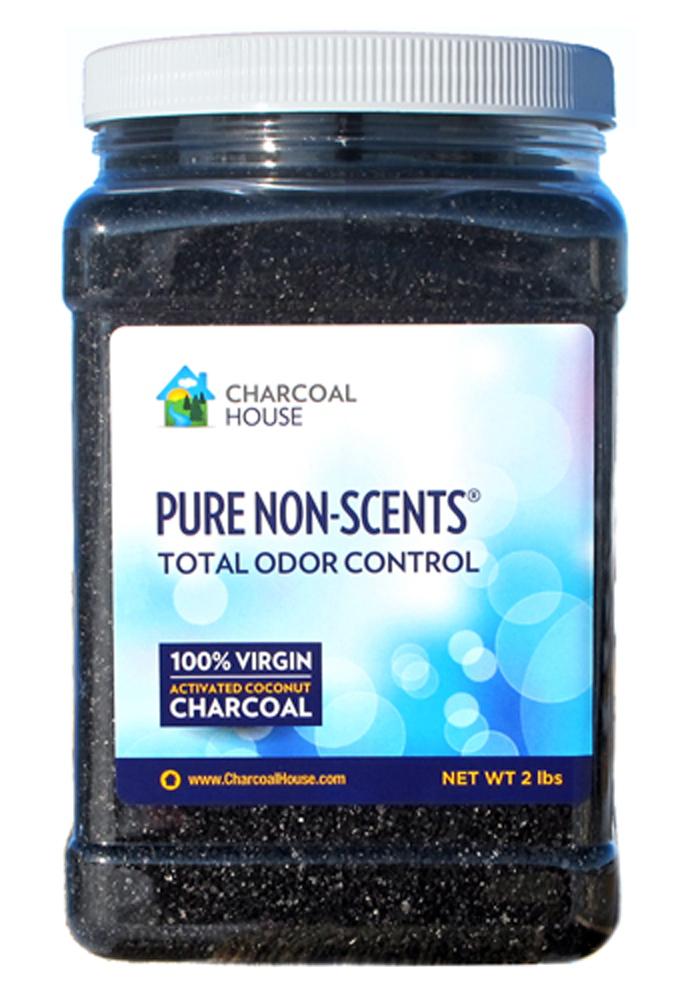 Pure Non-Scents 2qt 2lb jar 5 Sachets UPC609613486760