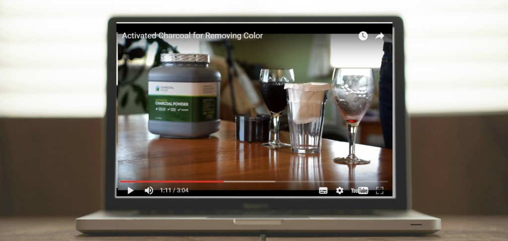 color video 1024x486 - Video: Activated Charcoal to Remove Color (food industry)