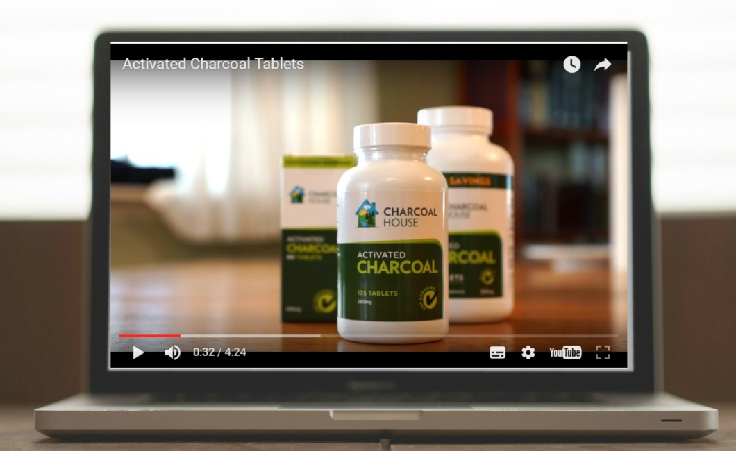 tablets video 1060x650 - Video: Uses of Activated Charcoal Tablets