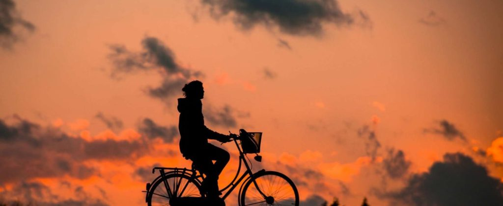 sunset on bike 1024x421 - Toxins: Does Charcoal remove toxins at cellular level?