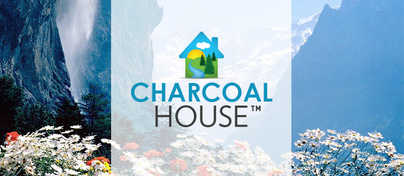 Charcoal House Header - Protection From Volcanic Ash, Breathe Clean Air Now!