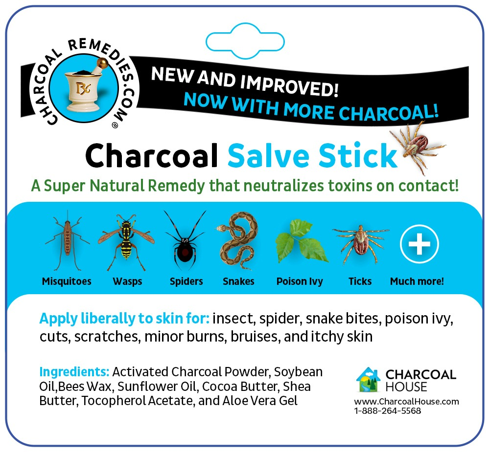 Salve Stick Box BACKSIDE FINAL crop - Have peace of mind with our Charcoal Salve Stick