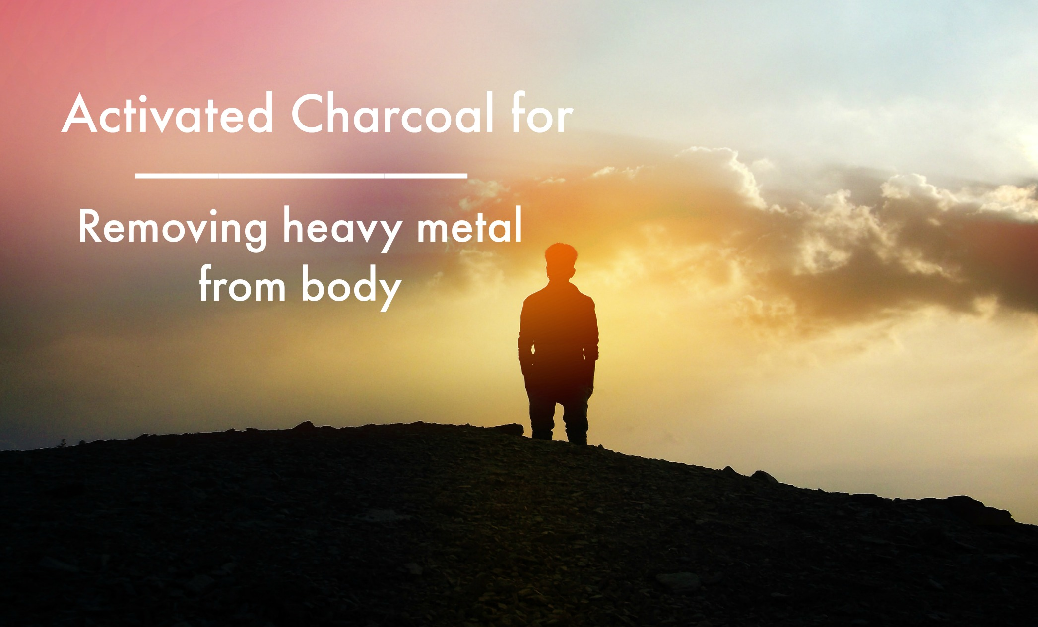 heavy metal header - Charcoal for Heavy Metals that have been in the body for years...