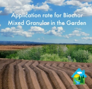 2 Application rate for Biochar Mixed Granular in the Garden 300x289 - Application rate for Biochar Mixed Granular in the Garden