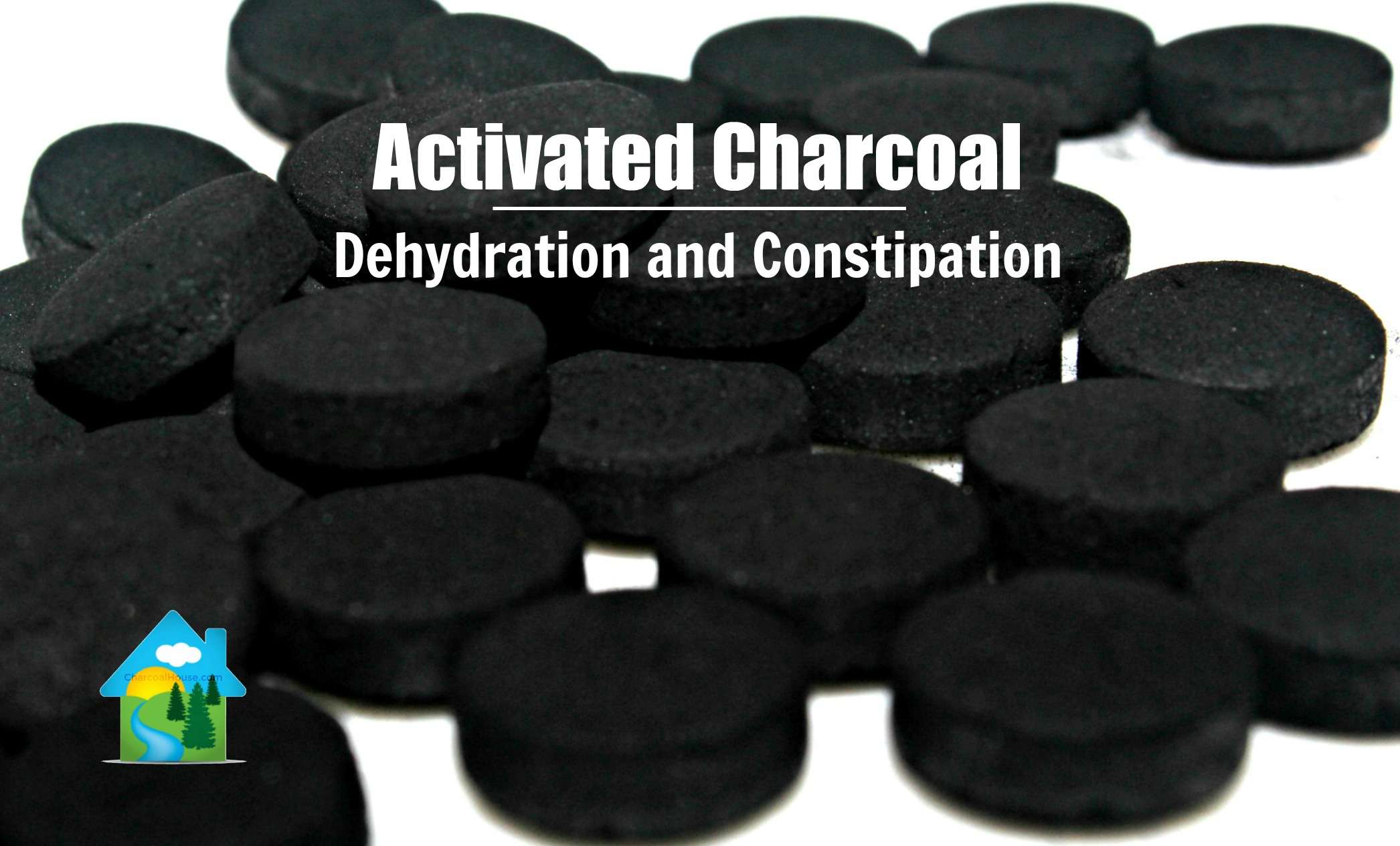 Dehydration and Constipation header - Dehydrated & Constipated when taking Charcoal