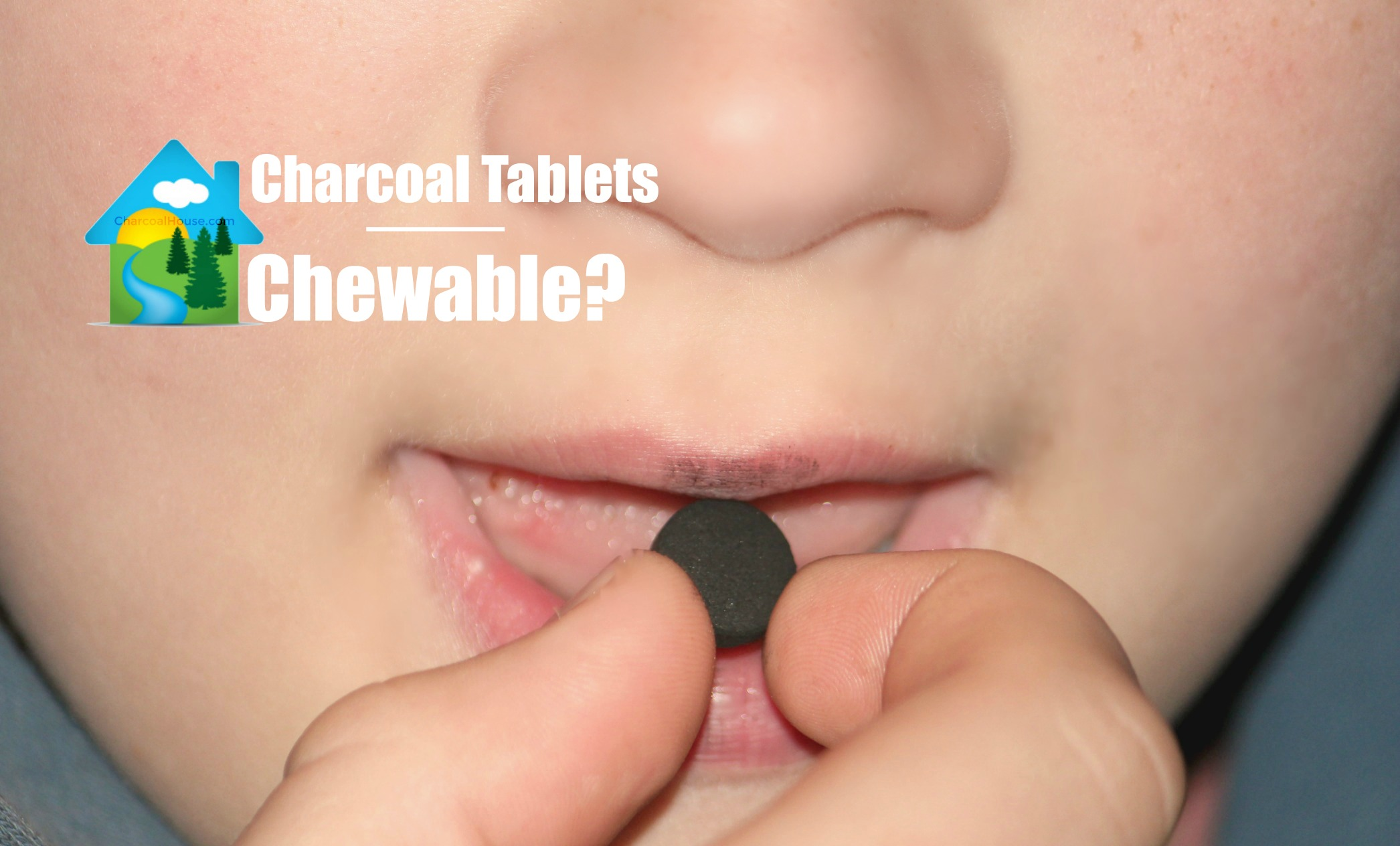 chewable charcoal tablets header - Are your Charcoal Tablets Chewable?