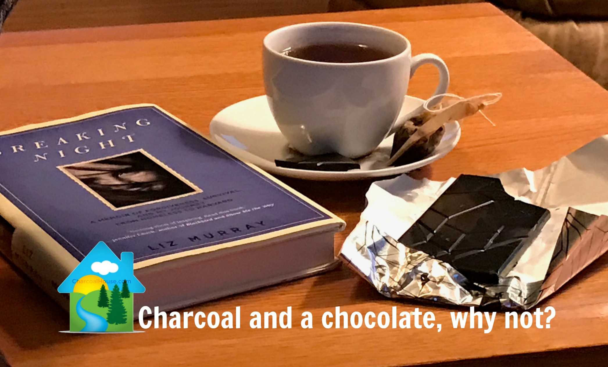 Charcoal and a chocolate why not header - Review: OmNom's Black n' Burnt Barley Chocolate Bar