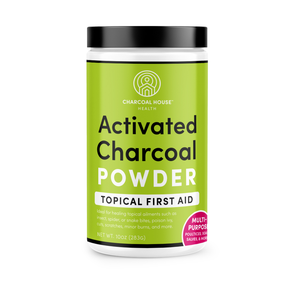 Health Powders Topical 02 1qt 1000px - Activated Charcoal for Sunburns
